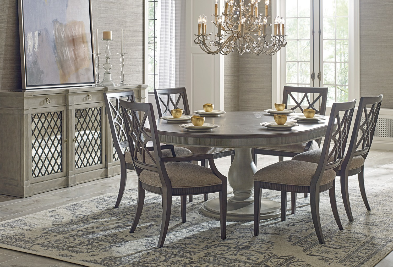 American drew dining room chairs