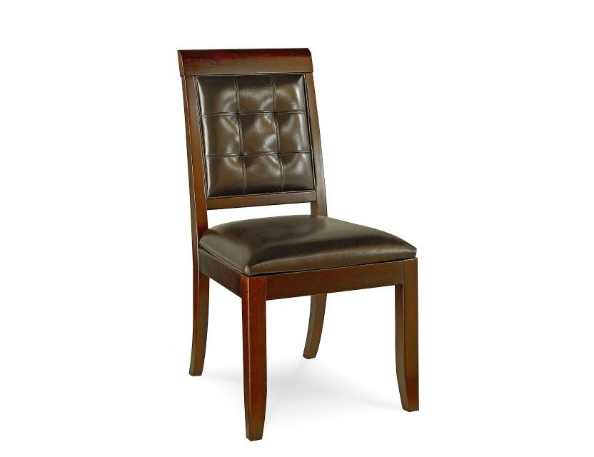CHAIR, SIDE LEATHER S&B-UPH