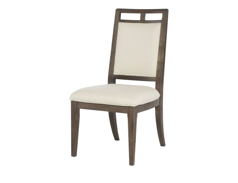 CHAIR, SIDE WOOD BACK