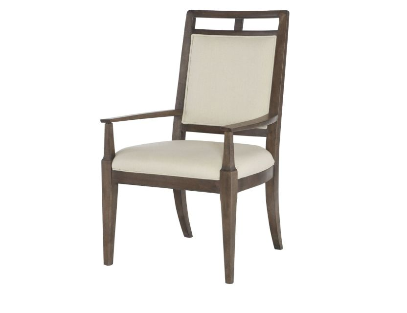 CHAIR, ARM WOOD BACK