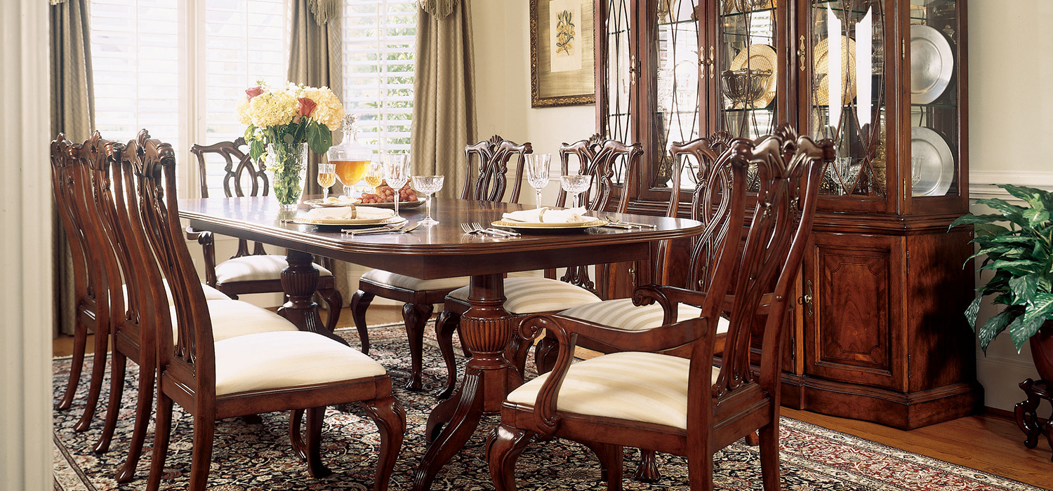 cherry wood dining room furniture cherry grove 6116