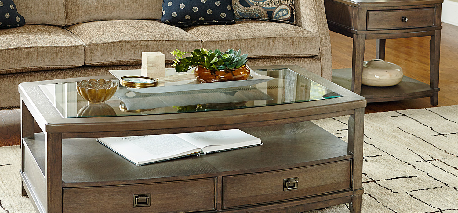 American Drew Coffee Table Park Studio Furniture Collection American Drew