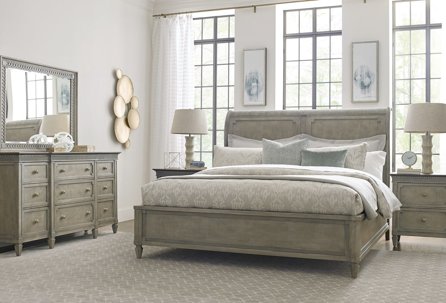 Etonnant Introducing Savona   A French Gray Bedroom And Dining Room Furniture  Collection From American Drew